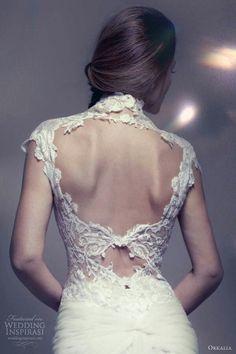 Lace open back