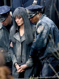 Angelina Jolie as Evelyn Salt in Salt