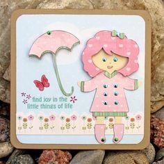Cute card made using #Cricut