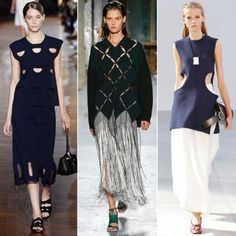 How to Wear Spring's Trickiest Trends - Unexpected Cutouts from #InStyle