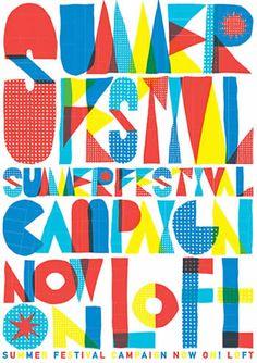 2012 SUMMER ポスター Flyer Design, Layout Design, Logo Design, Typography Fonts, Lettering, Typographie Inspiration, Typographie Logo, Happy Design, Summer Design