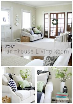 I Finished My Living Room After 16 Years!   Love of Home. Farmhouse living room reveal.