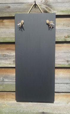 Shopping List Chalkboard  White Home Decor  Wooden Blackboard Awesome Kitchen Blackboard 2018