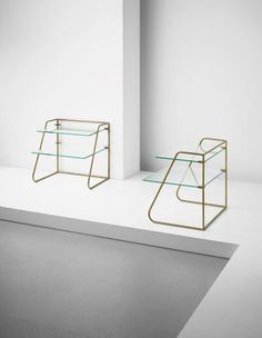 Side tables by Jean Royere