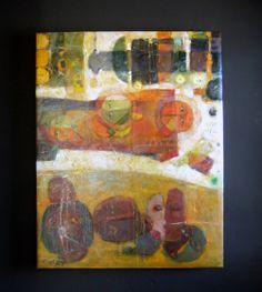 """Day Dream"" by Eyob Mergia. Original Oil on Canvas 2012. Featured at Piper Custom Framing & Fine Art Gallery, Sioux Falls, South Dakota."