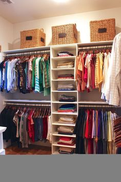 Bedroom Closet Design, Closet Designs, Bed Designs, Diy Storage Ideas For Small Bedrooms, Small Storage, Diy Closet Ideas, Storage Spaces, Storage Bins, Apartment Closet Organization