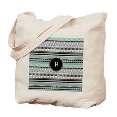 Borders Monogram Tote Bag with all the letters on each 260 products available