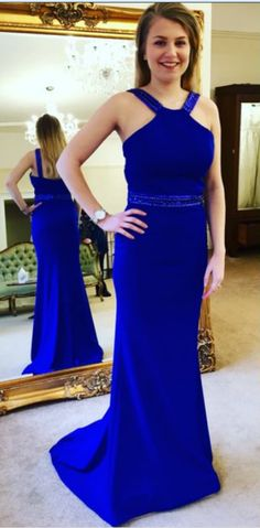 Fashion Royal Blue Prom Dresses Prom Dress Evening Gown Wedding Party  Dresses e0ec4582f754