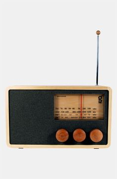 Handcrafted Pine & Mahogany 'Magno' Radio, Large available at #Nordstrom