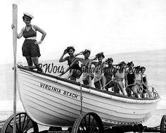 Lovely Ladies commandeer a US Coast Guard in 1934 - Ship a Shape!  Virginia Beach - Visit us on line at VirginiaPhotoArt.com | Yelp