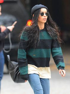 Take a Dive into the Effortless Cool of Zoë Kravitz's Bag Collection
