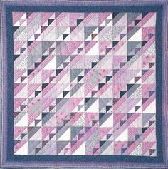 My first love in quilting will always be the design and making of traditional quilts using cotton fabric. I use a variety of techn. Quilt Block Patterns, Pattern Blocks, Quilt Blocks, Pink Quilts, Cotton Quilts, Cotton Fabric, Modern Tools, String Quilts, Traditional Quilts
