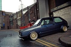 Mk1 Golf. I hate the wheels but otherwise it's perfect!