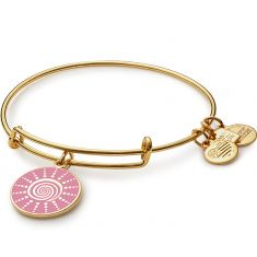 Spiral Sun Charm Bangle | Breast Cancer Research Foundation