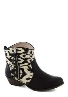 Again and a Grain Bootie, #ModCloth