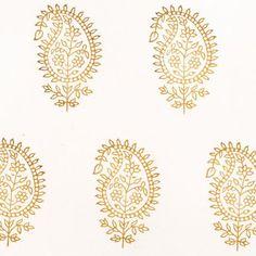 #109 Stripe Paisley | Les Indiennes Design Mandala, Indian Block Print, French Grey, Ribbon Work, Farrow Ball, Baby Love, Printing On Fabric, Pattern Design, Tapestry