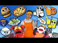 Food Song | Learn 15 Food and Drinks | Learn English Kids - YouTube