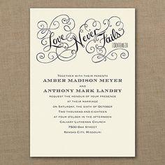 Romantic Promises - Ecru - Invitation    | 40% OFF  |  http://mediaplus.carlsoncraft.com/Wedding/Wedding-Invitations/3254-TWS35009EC-Romantic-Promises--Ecru--Invitation.pro