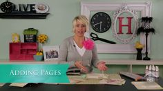 Quick Tip - Adding Pages. Join Heidi Swapp as she shares her quick tips for adding pages to your memory file. She'll show you how simple it ...