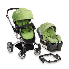 Fisher Price Car Seat Stroller Lime Green