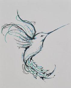 hummingbird tattoo - Buscar con Google
