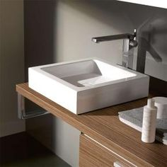 Alape AB.Q450.1 Sit-on basins W: 45 D: 45 cm white