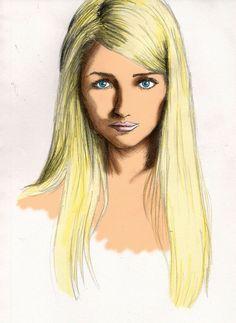 Inspiration for image of 'Jennifer Quinn' character.