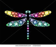 Find Gem Dragonfly stock images in HD and millions of other royalty-free stock photos, illustrations and vectors in the Shutterstock collection. Dragonfly Images, Dragonfly Wall Art, Mandala Canvas, Mandala Dots, Dot Art Painting, Stone Painting, Vintage Jewelry Crafts, Jewelry Art, Swarovski