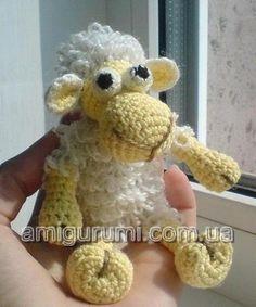 Amigurumi Lamb ~ Free Russian Pattern