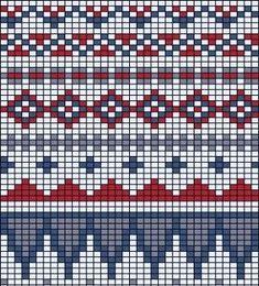 New Ideas Knitting Charts Patterns Fair Isles Crochet Tapestry Crochet Patterns, Fair Isle Knitting Patterns, Fair Isle Pattern, Knitting Charts, Loom Patterns, Knitting Stitches, Knitting Designs, Knitting Projects, Stitch Patterns