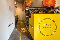 Ham on Wheels restaurant branding