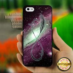 Nebula Love Infinity Purple - Print on Hard Cover for iPhone 4,4S
