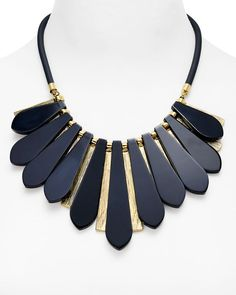 Carolee Fringe Statement Necklace, 17""