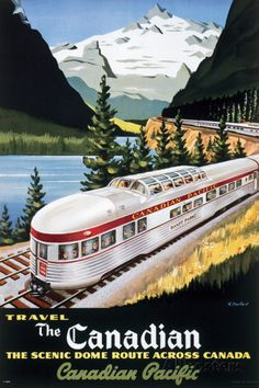 CP Train - Scenic Dome Prints at AllPosters.com