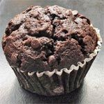 From the American Baked Goods Breakfast Recipe Collection. Double the chocolate is double the fun.  Careful though - double the delicious muffins can eventually double your belly.