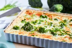 Quiche s jarni zeleninou a ricottou Quiche, Homemade, Breakfast, Food, Morning Coffee, Home Made, Essen, Quiches, Meals