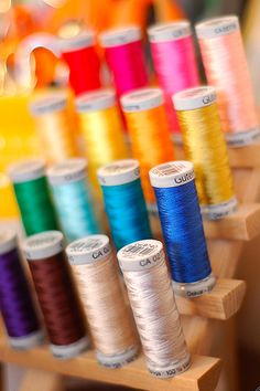 Thank You, LORD for the variety of threads we have as well as the organizer we have for all the spools.