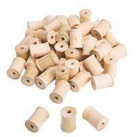 Use these tall wood spools for a variety of loose parts projects. The centre hole is diameter. Pack of Wood Spool, Fun Arts And Crafts, Natural Wood, 50th, Packing, Place Card Holders, Ravens, Centre, Projects