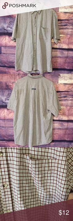 "Men's Aeropostale Button Down Shirt Men's Aeropostale Button Down Shirt. Size Large. Armpit to Armpit 16"" Length 32"" Aeropostale Shirts Casual Button Down Shirts"