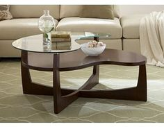 This is a trendy coffee table
