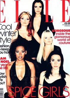 Spice Girls Elle Cover