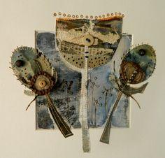 'Rustic thistle' by Louise O'Hara of DrawntoStitch www.drawntostitch.com