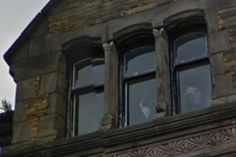 This Ghost That Google Maps Captured In This Window Will Scare You Shitless