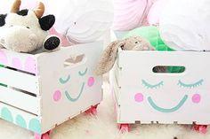 DIY: Con estas cajas de madera…¡7 ideas super bonitas!