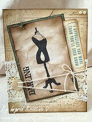 A Vintage Card by Ingrid Kristina V http://ingridscraftscorner.blogspot.co.uk/2014/02/vintage-chic-card.html