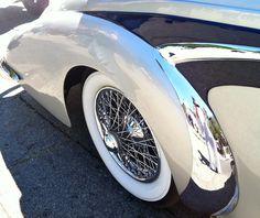 """Sexy """"flank"""" of a 1947 Delahaye 137MS Coupe - from the Concourse D'Elegance in Carmel, CA 2012 #cars"""