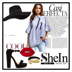 """Untitled #4"" by dzeneta-m ❤ liked on Polyvore featuring San Diego Hat Co., Lime Crime, Michael Kors and Whiteley"