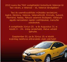 Velencei-tó taxi. Taxi, Budapest
