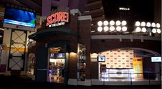 Score! Interactive Sports Exhibit - Live out your superstar athlete fantasy in this fun and energetic interactive pro sports exhibition. Visit iconic memorabilia from seven sports halls of fame, and become a legend yourself!