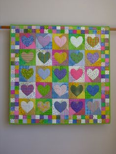 Change+of+Heart+wall+quilt+by+tinacurran+on+Etsy,+$1600.00